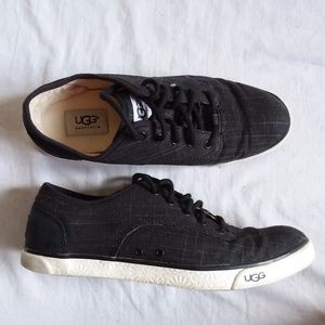 Ugg Black HALLY Sneaker Women's 8